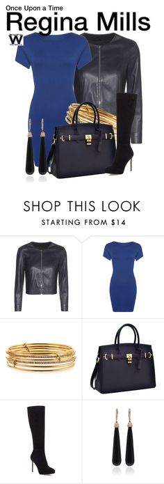 """""""Once Upon a Time"""" by wearwhatyouwatch ❤ liked on Polyvore featuring The Row, WearAll, Kate Spade, Jimmy Choo, SUSAN FOSTER, television and wearwhatyouwatch"""
