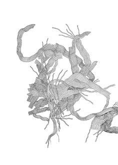 ulrike wathling, ink on paper