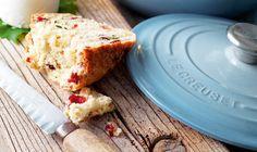 Cranberry, Rosemary and Cornish Sea Salt Bread | Le Creuset