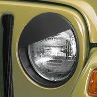 RedRock 4x4 Angry Eyes Headlight Conversion (97-06 Wrangler TJ) - RedRock 4x4 J100734