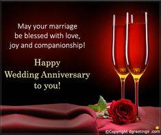 Wish the lovely couple a lifetime of joy and happiness by sending them a wonderful anniversary card.