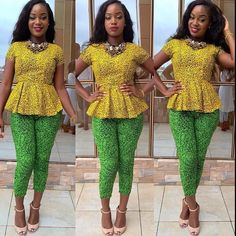 Ankara outfits today are now seen as a necessity for every girl's wardrobe and they are sewn to look so fabulous. It used to be a fabric strictly for just church and weddings but today it has come a long way in mainstream fashion and on the runway. The fabric has gone beyond being barely...
