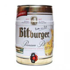 Fut de bière Allemande BITBURGER