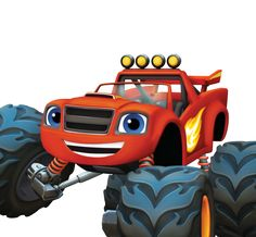 blaze and the monster machines   Blaze and the Monster Machines Personajes