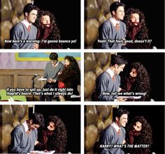 "AVPSY :))) See, most actors would cover for Darren with adlibed dialouge. Then there's Brolden, who just keeps yelling ""WHAT'S THE MATTER??"" xD Just another reason to love him... :)"