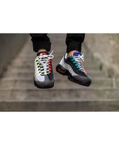 0a3011e35041 Nike Air Max 95 Og Greedy Black Grey Purple Trainers Sale Cheap Air Max 95