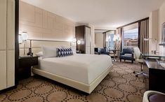 This property-wide renovation celebrating the 80th year of Harrah's isn't entirely new. You may remember that some of the Valley Tower hotel rooms were first made available in 2017. The room renovations are now complete. There are now 1,622 renovated hotel rooms and suites in that Valley Tower at Harrah's. Here's something to keep in …