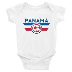 92f57784a Panama Onesie Soccer World Cup Infant Baby Toddler Newborn World Cup  Shirts