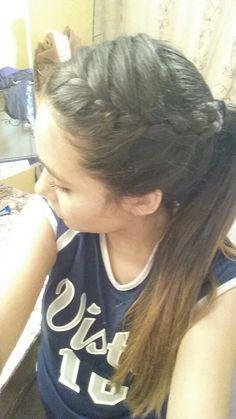 New sport hairstyles softball simple ideas Neue Sport Frisuren Softball einfache Ideen Weave Hairstyles, Sport Hairstyles, Cute Hairstyles, Running Hairstyles, Gorgeous Hairstyles, Athletic Hairstyles, Updo Hairstyle, Hairdos, Aloe Vera
