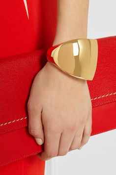 Maiyet Gold-plated cuff