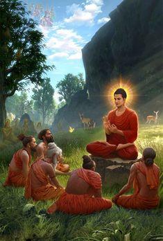 Buddhist Symbols, Buddhist Teachings, Buddhist Art, Buddhist Quotes, Buddha Artwork, Buddha Painting, Buddhism Wallpaper, Lord Buddha Wallpapers, Budha Art