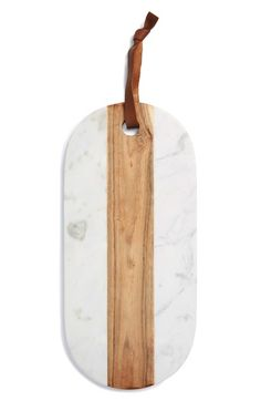 Thirstystone Marble & Wood Oval Serving Board available at #Nordstrom