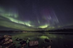 Aurora season is on! This is incredible! From Stamnes and Vidbukt, Sortland, Vesterålen, Norway, Oct 2015
