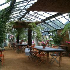 Top food experience of my life.  Petersham Nurseries London.