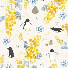 Cute Pattern, Pattern Design, Calendar Themes, Penguin Illustration, Llama Christmas, Repeating Patterns, Flower Prints, Cute Art, Color Combos