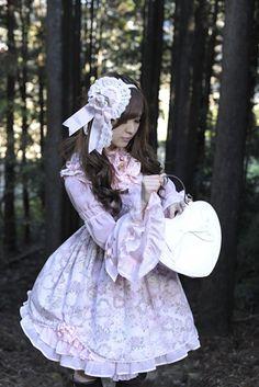 Purple Lolita Dress