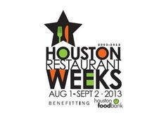 Grab your knife and fork and get ready to dig into a month-long deal at some of Houston's best restaurants. Yes, it's time for Houston Restaurant Weeks, which will run Aug. 1 to Sept. 2 and benefit… Festival Logo, Restaurant Specials, Restaurant Week, Houston Food, Houston Tx, Houston Restaurants, Area Restaurants, Food Bank, Business Journal