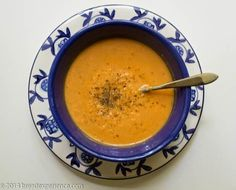 Creamy Tomato Soup Recipe with White Beans from The Great Vegan Bean Book
