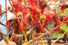 iloilo dinagyang festival in the philippines