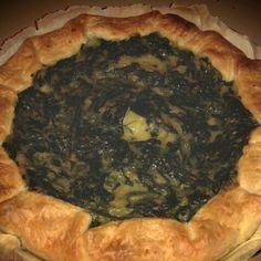 Happy #Sunday everyone! Let's taste this #quiche with #spinach, #potatoes and #mozzarisella ! Mmm :9 // Buona #Domenica a tutti! Assaggiamo questa quiche di #spinaci, #patate e mozzarisella! Mmm :9 #veganfood #dairyfree #senzalattosio