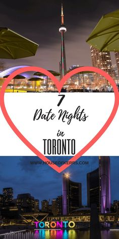 7 unique date night ideas in Toronto