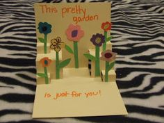 Wayward Girls' Crafts: Mother's Day Cards for Kids, 2 pop-up cards for children to make.