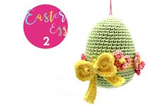 Easter CAL 2017 (Day 2) - free crochet patterns for 6 eggs at Yarnplaza.