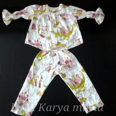 Pijama for girl made by student - bleSS3d modiste