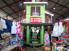 A wide array of goods is available at Castries Central Market in Castries, St. Central Market, Caribbean