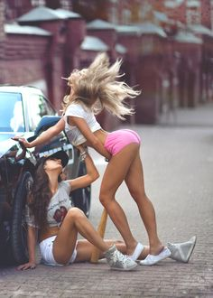 Camaro & Girls by Evgenia