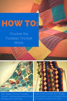 How to Crochet the Tunisian Crochet Stitch