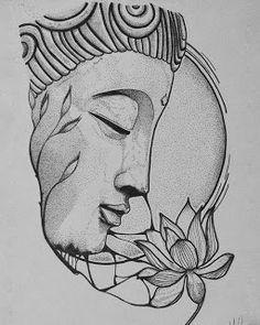 Holística Hayden...Un espacio para el Alma......: LAS 8 LEYES DEL KARMA MENOS CONOCIDAS. Buddha Drawing, Buddha Painting, Buddha Art, Mandala Drawing, Mandala Art, Art Drawings Sketches Simple, Pencil Art Drawings, Art Drawings For Kids, Tattoo Sketches