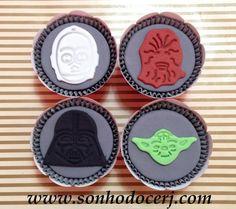 Cupcakes Star Wars! curta nossa página no Facebook: www.facebook.com/sonhodocerj