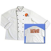 Tailgate 29 Chef Cleveland Browns Embroidered Chef Coat - NFLShop.com#Ultimate Tailgate #Fanatics