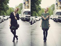 The green dress (by Angela D.) http://lookbook.nu/look/3441889-the-green-dress