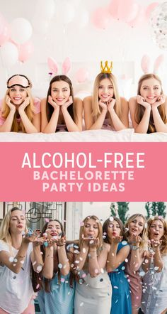 bachlorette party ideas Celebrate your upcoming marriage with some good, clean fun with these alcohol-free bachelorette party ideas! Bachlorette Party, Classy Bachelorette Party, Bachelorette Party Decorations, Bachelorette Weekend, Bachelorette Party Activities, Party Games, Harry Potter Halloween, Party Kit, Pimp Your Drink