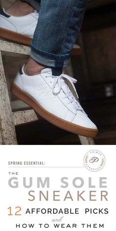 Best Gum Sole Sneakers 12 Affordable Options Best Sneakers, Shoes Sneakers,  Mens Casual Sneakers 5ae7c9f0de4
