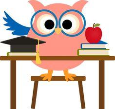 girl owl clip art book reading owl clip art sophie topfeather rh pinterest co uk owl education clipart owl education clipart