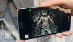 Per App wird das Smartphone zum 3D-Scanner.