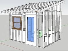 Image result for build a small shed plans