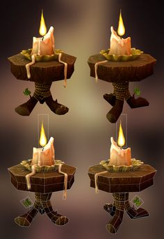 Candle, Nancy Cantu on ArtStation at https://www.artstation.com/artwork/rWeOe