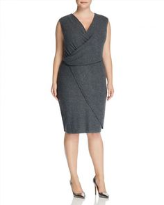 174.00$  Buy now - http://visqo.justgood.pw/vig/item.php?t=uvhwm828807 - Tart Collections Plus Analyse Faux Wrap Dress