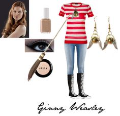 """""""Ginny Weasley"""" by tonks-moon on Polyvore"""