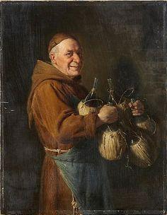Eduard von Grützner oljemålning