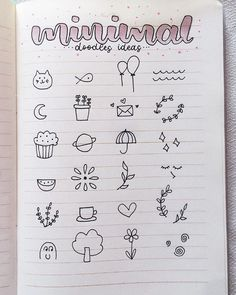 150 Easy Doodle Ideas and Tutorials for Your Bullet Journal