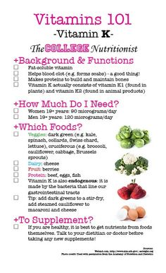 Vitamins Vitamin K. I read if you supplement with high doses of Vitamin you need to also take Vitamin to help it absorb in your body better. Nutrition And Mental Health, Nutrition Education, Health And Wellness, Health Foods, Natural Vitamins, Natural Health, Warfarin Diet, Vitamin D2, Coconut Milk Nutrition