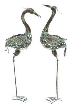 Metal Garden Cranes