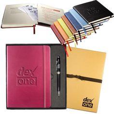 Leeman� Tuscany� Journal with Executive Stylus Pen Set (2 Piece Set)