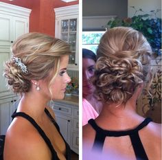 Cute updo for prom