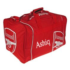 Personalised Arsenal Holdall